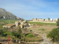 la frazione di Balata di Baida ai piedi del Monte Sparagio - 21 febbraio 2009  - Balata di baida (3261 clic)