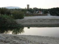 Baia di Guidaloca: foce del fiume e torre di avvistamento - 26 aprile 2007  - Castellammare del golfo (823 clic)