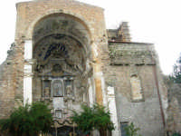 Ruderi Chiesa S. Giuseppe con presepe - 6 gennaio 2009   - Castelvetrano (6438 clic)