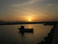 tramonto sul porto - 24 maggio 2008  - Balestrate (1114 clic)