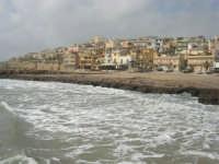il paese visto dal molo - 1 marzo 2009  - Marinella di selinunte (3819 clic)