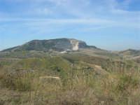panorama dal colle Pianto Romano - 4 ottobre 2007    - Calatafimi segesta (736 clic)