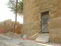 Castello arabo normanno - lavori di ristrutturazione - 11 ottobre 2007  - Salemi (2270 clic)