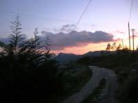 Giuliana al tramonto - 9 marzo 2008.  - Chiusa sclafani (1869 clic)