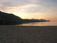 Spiaggia Plaja all'imbrunire - 10 maggio 2009    - Castellammare del golfo (998 clic)