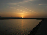 tramonto sul porto - 24 maggio 2008  - Balestrate (946 clic)