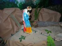 Il grande presepio allestito dalle monache del Monastero di Santa Chiara - Chiesa dei SS. Cosma e Damiano - particolare - 10 gennaio 2009   - Alcamo (2734 clic)