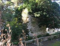 Bosco d'Alcamo - Riserva Naturale Orientata - sul monte Bonifato: La Funtanazza, grande serbatoio pubblico di età medievale - 8 dicembre 2006   - Alcamo (2456 clic)
