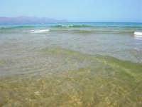 il mare: semplicemente stupendo! - 26 agosto 2007  - Alcamo marina (913 clic)
