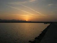 tramonto sul porto - 24 maggio 2008  - Balestrate (1156 clic)