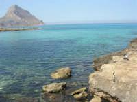 Golfo del Cofano: paesaggio brullo, mare spettacolare - 23 agosto 2008  - San vito lo capo (499 clic)