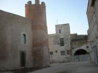 Castello dei Conti di Modica, lato est - 24 maggio 2007  - Alcamo (1128 clic)