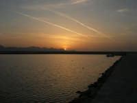 tramonto sul porto - 24 maggio 2008  - Balestrate (1269 clic)