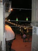 uno scorcio di piazza Libertà illuminata a festa - 6 gennaio 2009  - Salemi (3435 clic)