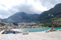 la città vista dal porto - 10 marzo 2008  - Castellammare del golfo (590 clic)