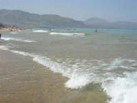 il mare: semplicemente stupendo! - 26 agosto 2007  - Alcamo marina (969 clic)