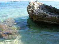 la trasparenza del mare - 1 ottobre 2006  - Scopello (1050 clic)