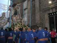 Processione in onore di Maria Santissima dei Miracoli, patrona di Alcamo - Corso VI Aprile - 21 giugno 2009   - Alcamo (2608 clic)