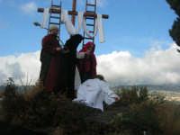 Processione della Via Crucis con gruppi statuari viventi - 5 aprile 2009   - Buseto palizzolo (1625 clic)