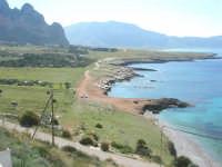 Golfo del Cofano: panorama da Macari - 24 febbraio 2008   - San vito lo capo (537 clic)