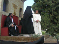 Processione della Via Crucis con gruppi statuari viventi - 5 aprile 2009  - Buseto palizzolo (1512 clic)