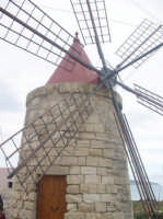 Il mulino situato lungo la via del sale a Trapani  - Mozia (6000 clic)
