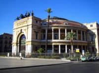 Teatro Politeama diurno  - Palermo (5311 clic)