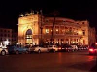 Teatro Politeama - Notturno PALERMO antonino mamone