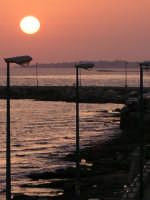 Tramonto sul molo  - Donnalucata (2582 clic)