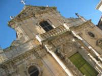 chiesa santa maria assunta sec. XV-XVI facciata in stile barocco chiusa sclafani  - Palermo (4294 clic)