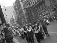 processione in via roma PALERMO ISACCO