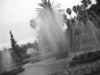 la fontana all'interno del giardino inglese PALERMO ISACCO
