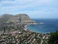 Mondello da monte pellegrino  - Palermo (3336 clic)