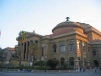 Teatro Massimo costruito da Basile secondo solo a quello di Ginevra in Europa per estensione di palc
