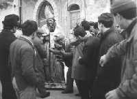Processione di S.Nicola . Anni 50   - Salemi (4132 clic)