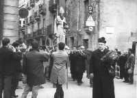 Processione di S.Nicola.  Anni 50   - Salemi (7325 clic)