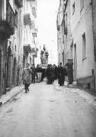Processione di S.Nicola. Anni 50   - Salemi (6136 clic)