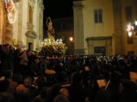 Festa dell'otto dicembre - Processione della Madonna tra le antiche vie cittadine.Inizio della processione.-  - Salemi (7712 clic)