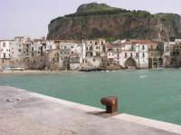 Porticciolo e banchina dove Tornatore ha girato alcune scene del film Nuovo Cinema Paradiso  - Cefalù (3392 clic)