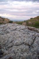 Cristalli di gesso. Dettaglio delle colline di cristallo  - Ramacca (7169 clic)