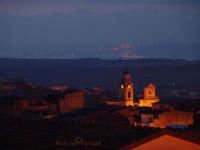 Campanile di San Giuseppe alle prime luci dell'alba  - Scordia (3234 clic)