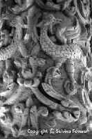 Dettaglio di colonna. Chiesa di Santa Maria la Vetere  - Militello in val di catania (5275 clic)
