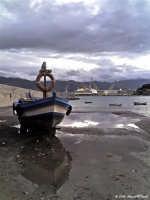 Arenella (Pa) - Barca sul molo  - Palermo (2094 clic)