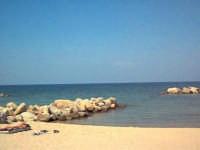 Falcone (ME) - La spiaggia (ago 2002) VIII  - Falcone (9783 clic)