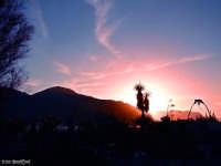 Sferracavallo (Pa) - Tramonto rosso  - Sferracavallo (3308 clic)