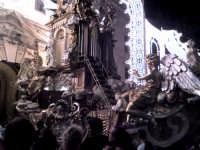 Il carro di S. Rosalia - gli angeli dorati posti ai lati del carro a guardia della Santuzza - Pale