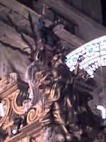 Il carro di S. Rosalia - particolare della statua raffigurante la Santuzza sul carro - Palermo Kal