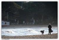 Mondello - (Pa) - Passeggiando sulla spiaggia  - Mondello (3442 clic)