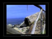 Il mare nella riserva di Capo Gallo lato Barcarello (Sett 2005) LI  - Sferracavallo (4235 clic)