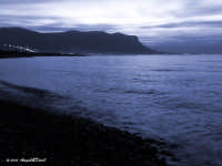 Capaci - Lo splendido mare e la costa al crepuscolo (Nov 2005) LXXXI  - Capaci (5204 clic)